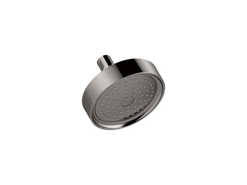Kohler K-965-AK-TT Purist 2.5 GPM Single-Function Wall-Mount Showerhead with Katalyst Air-Induction Technology in Vibrant Titanium