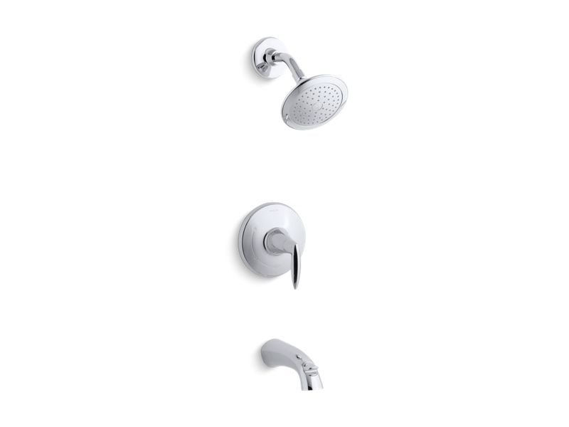 Kohler K-TS45104-4-CP Alteo Rite-temp Bath and Shower Trim Set, Valve Not Included in Polished Chrome