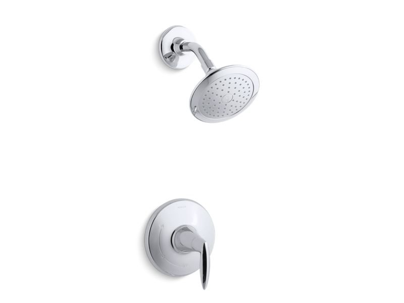 Kohler K-TS45106-4-CP Alteo Rite-temp Pressure-balancing Trim Set, with 2.5 Gpm Showerhead in Polished Chrome