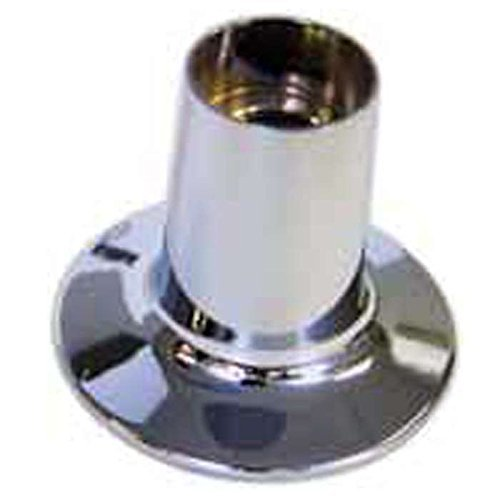 "Kissler 42-0675 1-1/4"" X 2-3/4"" 2-1/4"", 1-Hole, Bottom Round, Faucet Escutcheon"