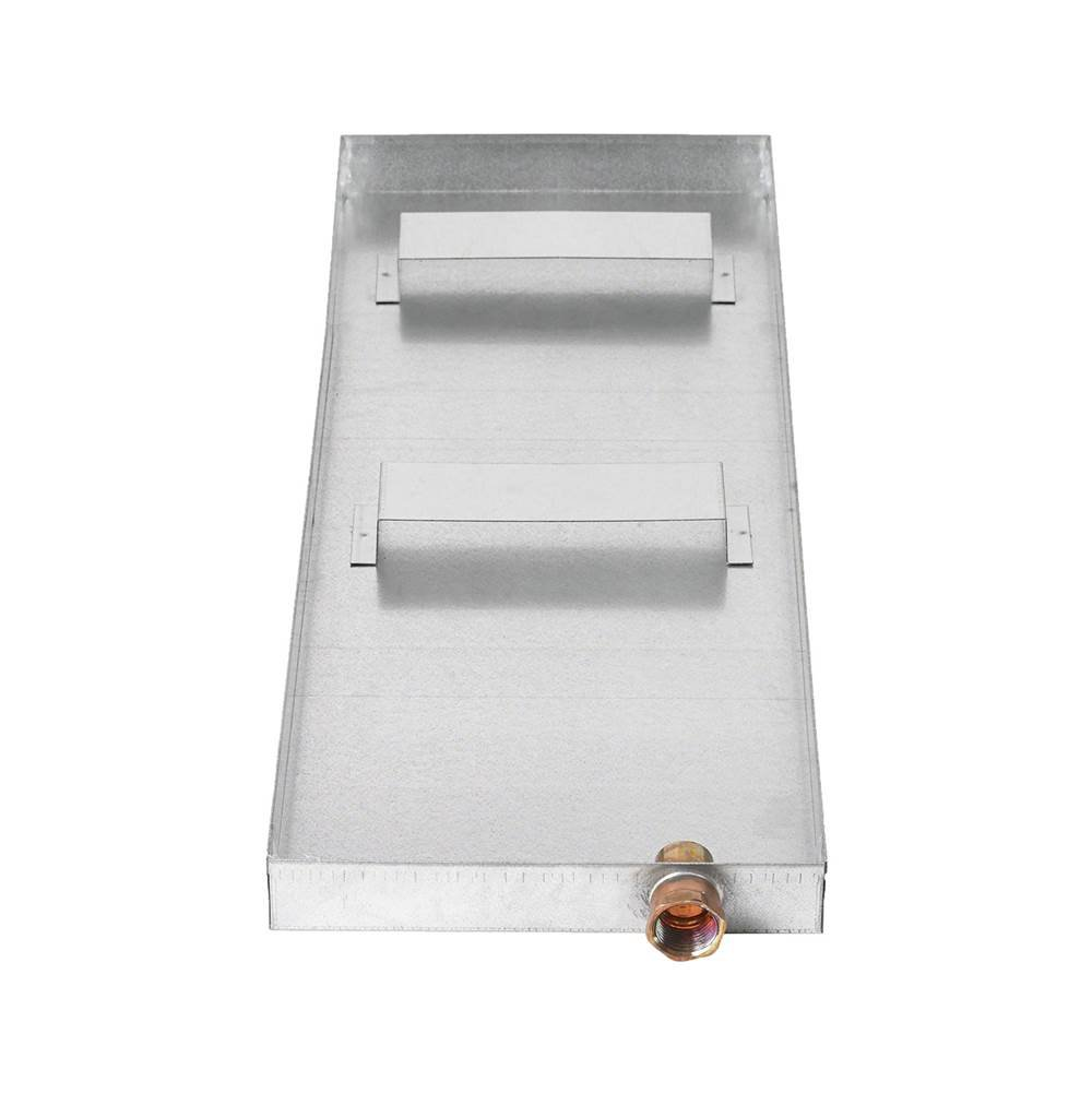 """Mr. Steam  Pan with 3/4"""" Drain Fitting Residential Steam Generator"""
