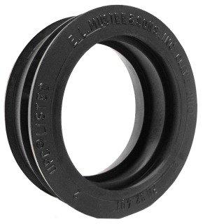 "Mustee 32.401 2"" Dwv Black Rubber Round Shower Floor Drain Seal"
