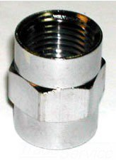 "Walrich 341404 1/2"" X 1/2"" Fptxfpt Lead-Free Coupling"