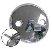Kissler 742-7133 Universal Fit Drain Faceplate And Spring W/Screw