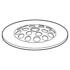 Moen 90467 Grid Screw Kit Shower Drain Chrome