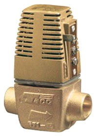 "Taco 571-2 3/4"" Sweatxsweat 24Vac 125Psi Bronze Two-Way Heat Motor Zone Valve"
