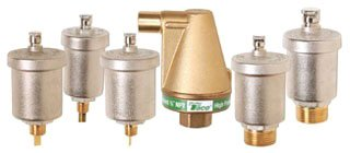 "Taco 400-4 1/8"" Mpt Brass 150Psi Automatic Air Vent Valve"