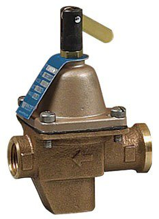 "Watts 386422 1/2"" Union Solderxunion Solder Bronze Boiler Feed Water Pressure Regulator"