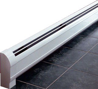 "Sterling Kom-Pak WKP4A-3 4' X 8-1/2"" 720Btu/Hr Copper Element Low Profile Hydronic Baseboard"