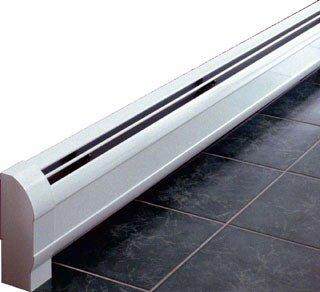 "Sterling Kom-Pak WKP7A-3 7' X 8-1/2"" 720Btu/Hr Copper Element Low Profile Hydronic Baseboard"