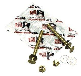 "Hercules Johni-Bolts 90124 5/16"" X 2-1/4"" Solid Brass Closet Bolt"