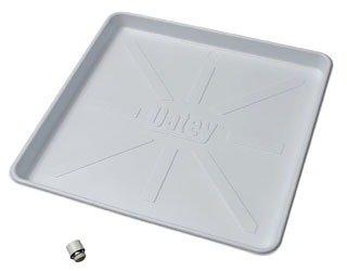 "Oatey 34067 30"" X 28"" 2.5"" White Polystyrene Washing Machine Pan"