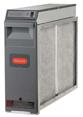 """Honeywell F300E1019 Electronic Air Cleaner, 16"""" X 25"""" With Performance Enhancing Post-Filter"""