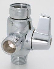 Jaclo 2003-SN Deluxe Lever Diverter, Satin Nickel