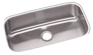 "Elkay Dayton DXUH2816 30-1/2"" X 18-1/4"" 8"" Radiant Satin Stainless Steel 1-Bowl Kitchen Sink"