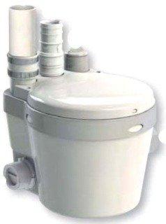 "Saniflo Sani 21 1"" 0.3Hp 115V 24Gpm At 3' 14' Head Indirect Coupled Drain Water Pump"