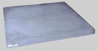 "Diversitech Ultralite UC3636-3 36"" X 2"" Concrete Lightweight Equipment Pad"