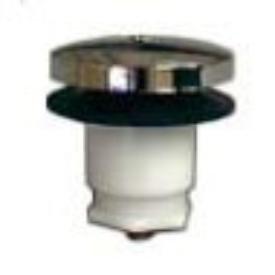 "Kissler 1407612 3/8"" Chrome Tip-Toe Tub And Shower Cartridge"