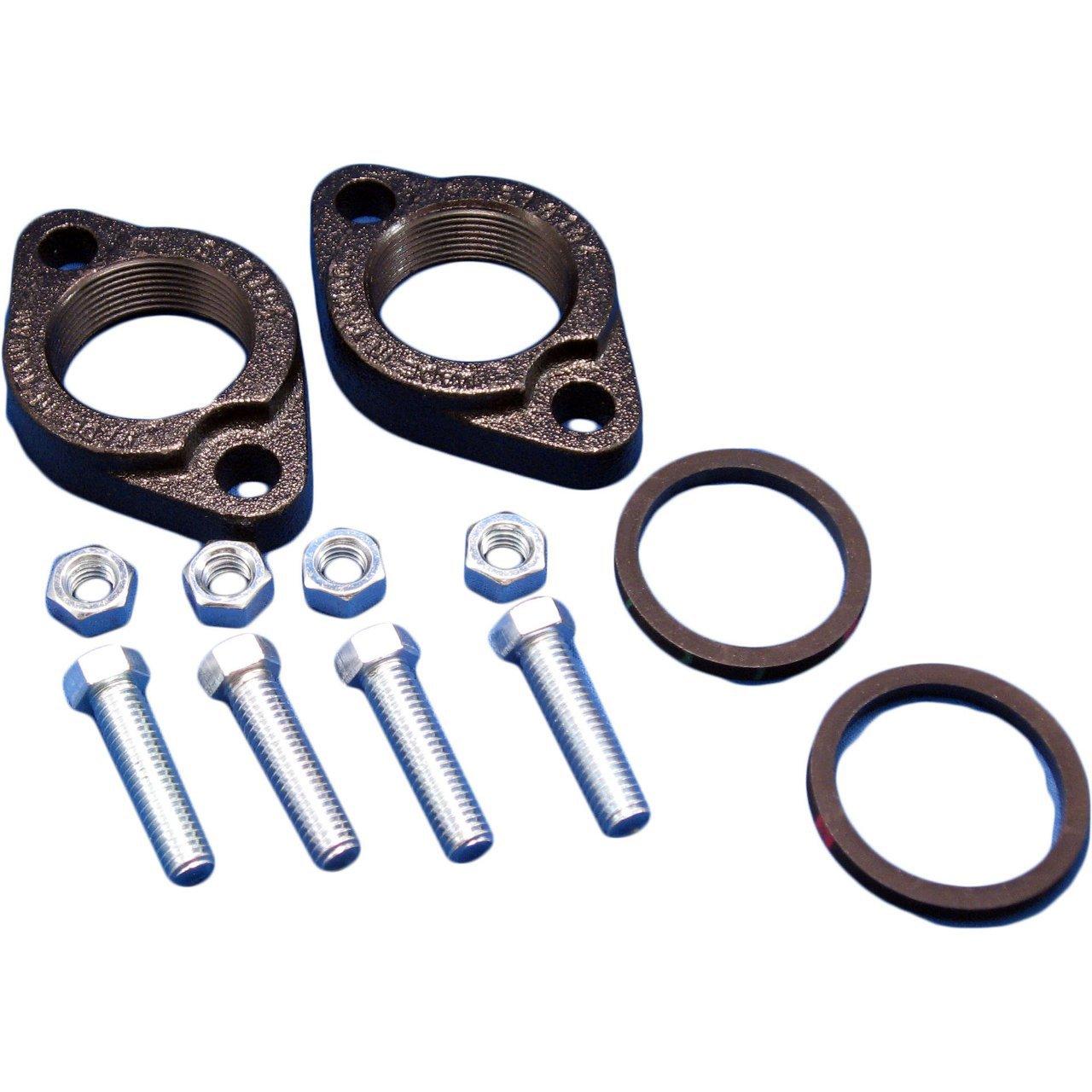 "Grundfos 519604 1-1/2"" Npt Cast Iron Circulator Pump Packaged Flange Set"