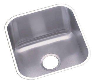 """Elkay Dayton DXUH1618 16-1/2"""" Radiant Satin Stainless Steel 1-Bowl Bar Sink"""