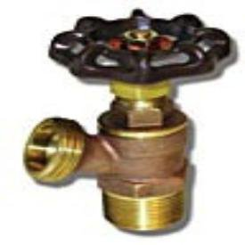 "205F03 1/2"" Mptxmpt 125Psi Cast Brass Angle Full Flow Boiler Drain Valve"