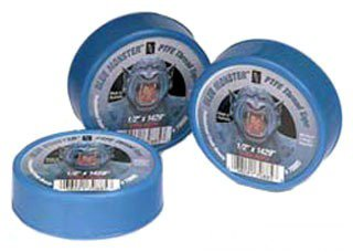 "Mill-Rose Clean-Fit 70885 1/2"" X 1429"" Blue Ptfe Thread Sealing Tape"