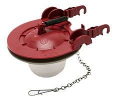 "Fluidmaster 5403 3"" Red Adjustable Universal Toilet Flapper"