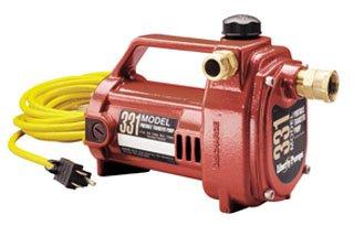 Liberty Model 331 1/2Hp 115Vac 7500Rpm Cast Aluminum Electric Transfer Pump