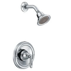 Moen T62152EP Brantford Posi-Temp Pressure Balanced Tub and Shower Trim with 1.75 GPM Shower Head and Tub Spout