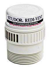 "Ips Studor 20346 1-1/2"" Or 2"" Mpt Abs Plastic Air Admittance Valve"
