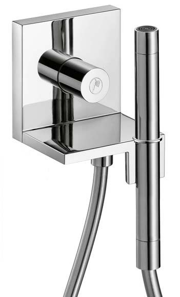 Axor 10651001 Starck 2.5 GPM Single Function Wall Mounted Handshower Package