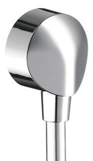 Hansgrohe 27458003 Shower Power Wall Supply Elbow with Check Valve in Chrome