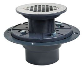 """Sioux Chief  821-200P 2"""" Pvc Round Screw-On Shower Pan Drain"""