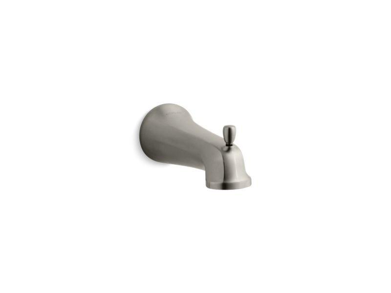 Kohler K-10588-BN Bancroft Wall Mount Diverter Bath Spout in Vibrant Brushed Nickel