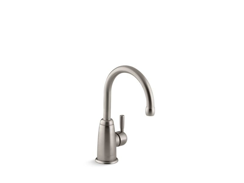 Kohler K-6665-VS Wellspring Beverage Faucet with Contemporary Design in Vibrant Stainless