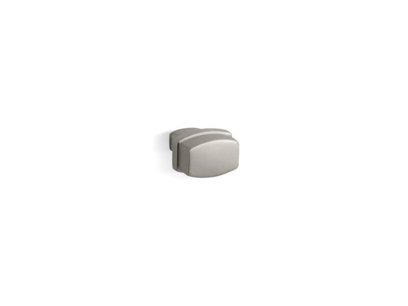 Kohler K-11425-BN Bancroft Drawer Knob in Vibrant Brushed Nickel
