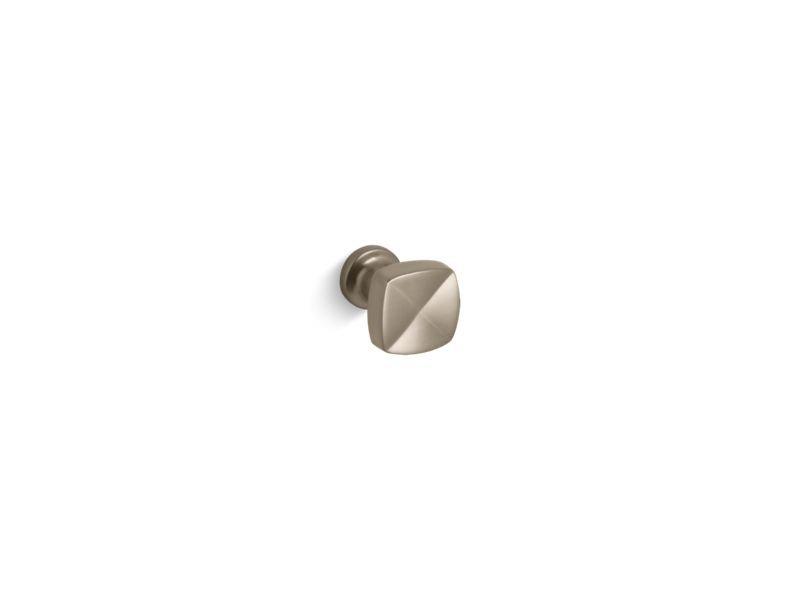 Kohler K-16262-BV Margaux Knob Cabinet Hardware in Vibrant Brushed Bronze
