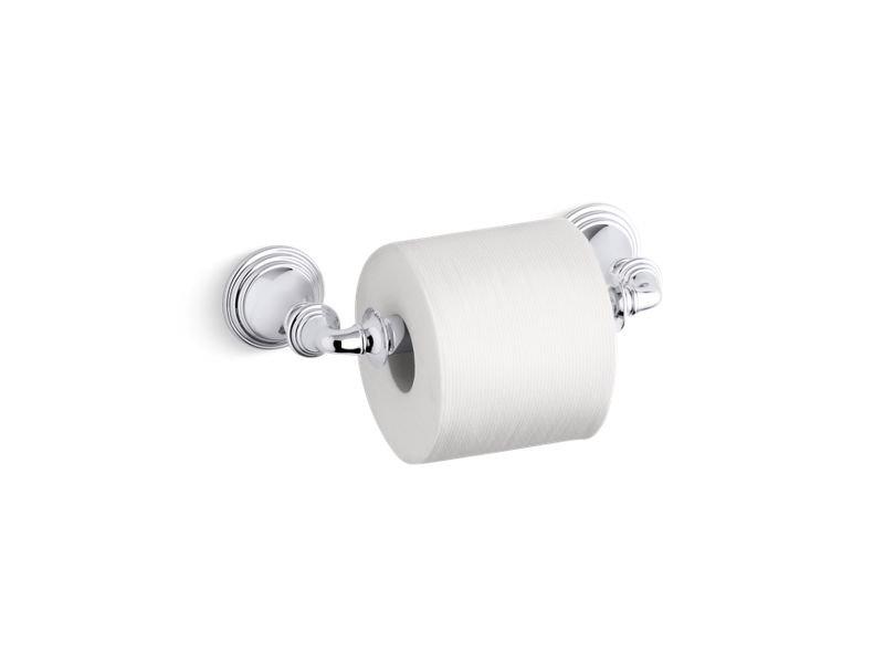 Kohler K-10554-CP Devonshire Toilet Tissue Holder in Polished Chrome
