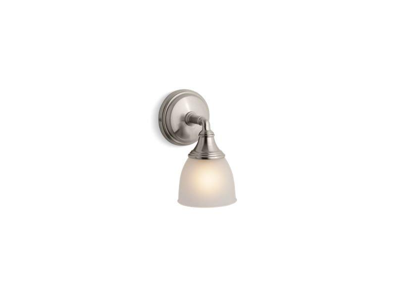 Kohler K-10570-BN Devonshire Single Wall Sconce in Vibrant Brushed Nickel