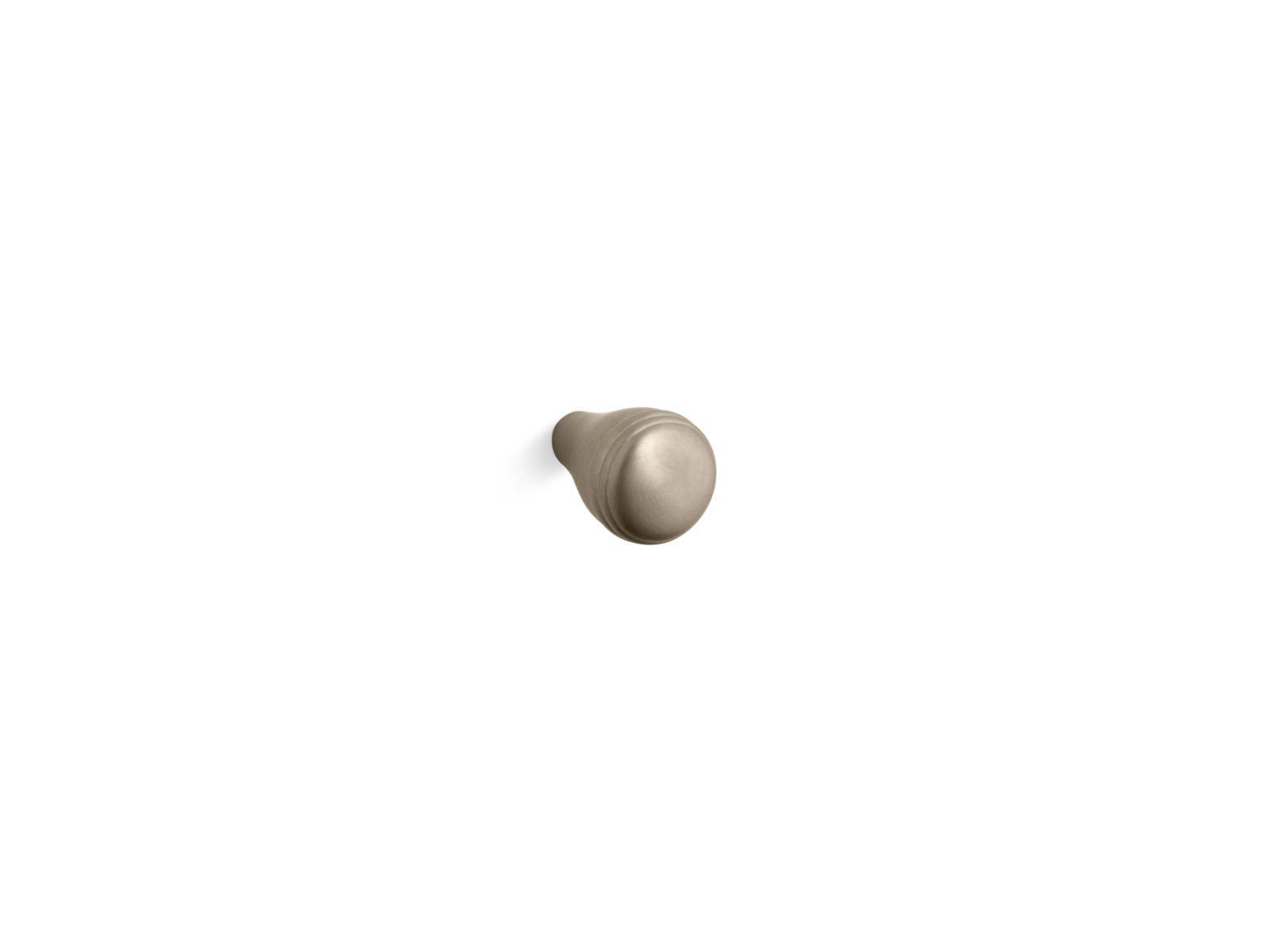 Kohler K-10575-BV Devonshire Cabinet Knob in Vibrant Brushed Bronze