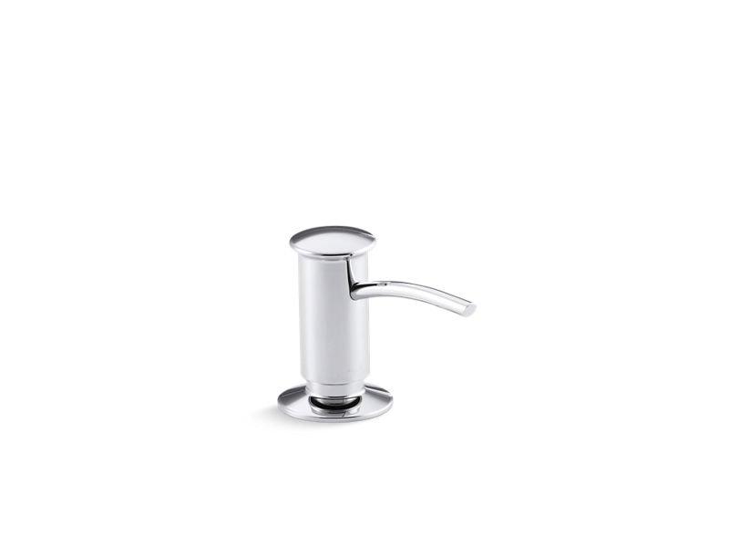 Kohler K-1895-C-CP Contemporary Design Soap/Lotion Dispenser in Polished Chrome