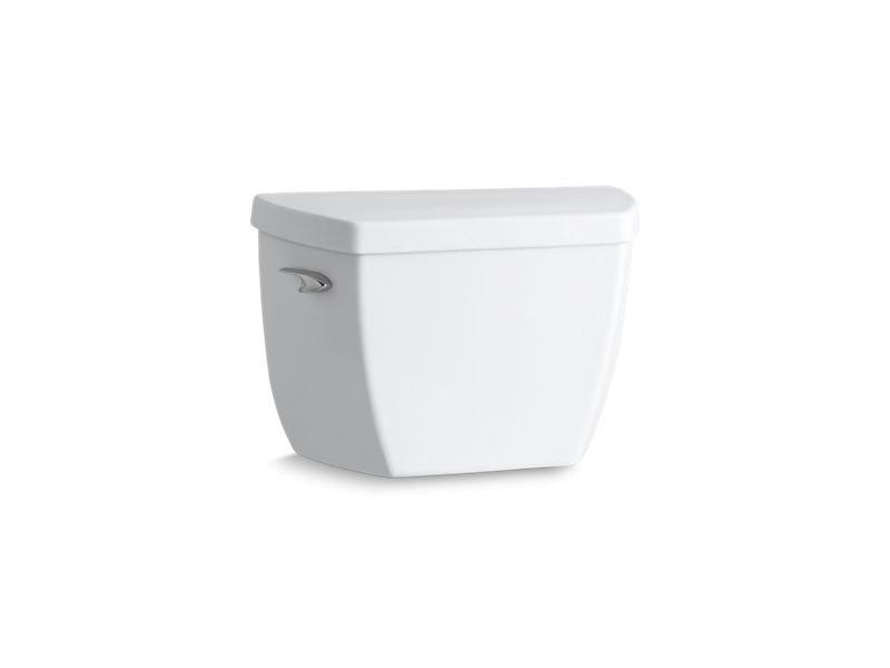 Kohler K-4645-0 Highline Classic 1.6 GPF Toilet Tank with Pressure Lite Flushing Technology in White