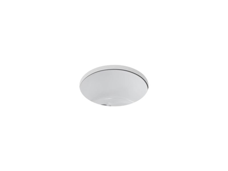Kohler K-6565-0 Porto Fino Top/Under-Mount Bar Sink in White