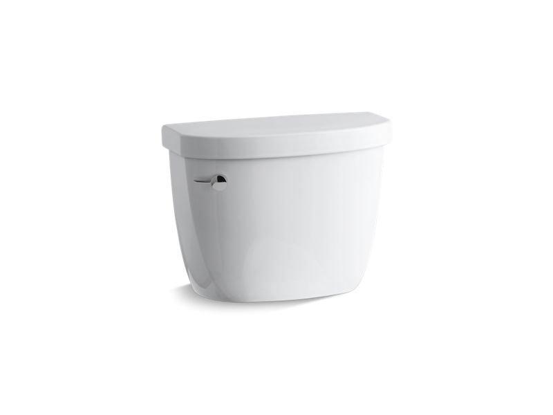 Kohler K-4421-0 Cimarron 1.28 GPF High Efficiency Toilet Tank with Aquapiston Flush Technology in White