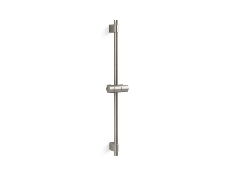 "Kohler K-98341-BN Awaken 24"" Hand Shower Slide Bar in Vibrant Brushed Nickel"