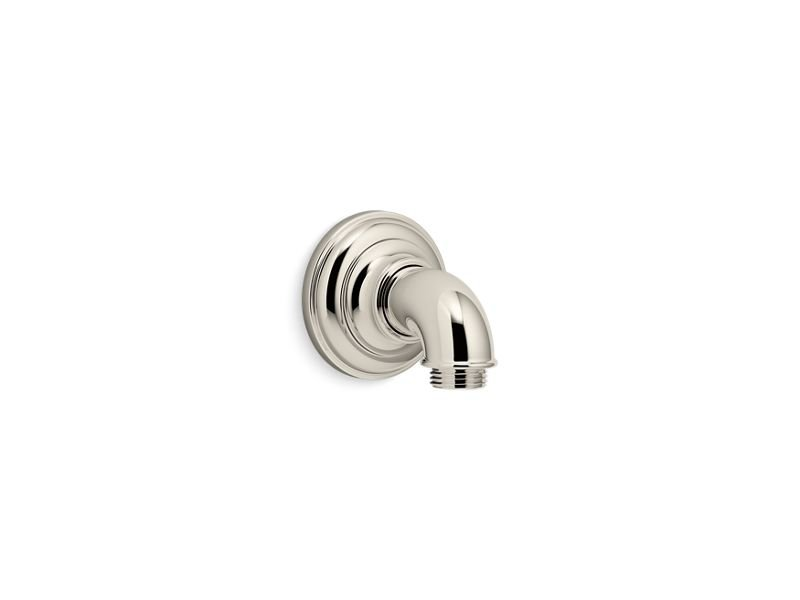 Kohler K-72796-SN Artifacts Wall-Mount Supply Elbow in Vibrant Polished Nickel