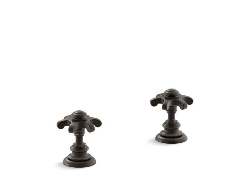 Kohler K-T98071-3M-2BZ Artifacts Deck-mount Bath Prong Handle Trim in Oil-Rubbed Bronze