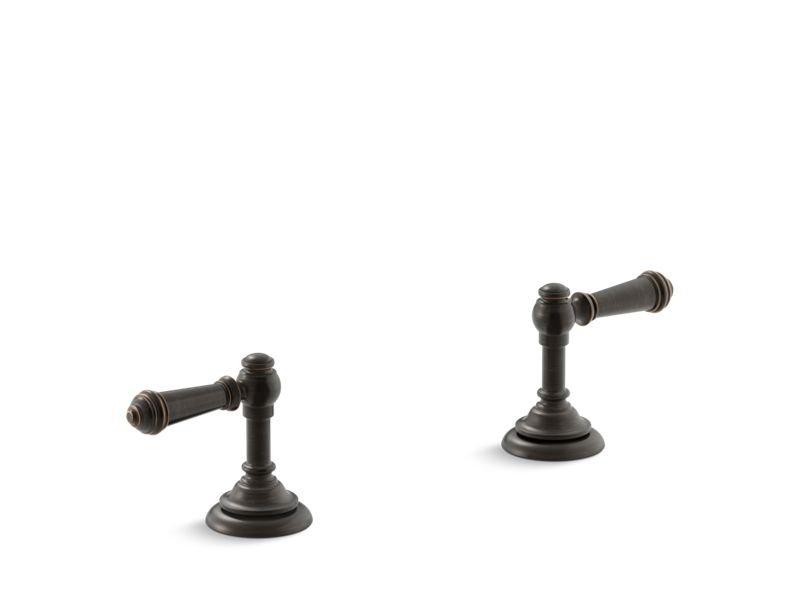 Kohler K-T98071-4-2BZ Artifacts Deck-mount Bath Lever Handle Trim in Oil-Rubbed Bronze