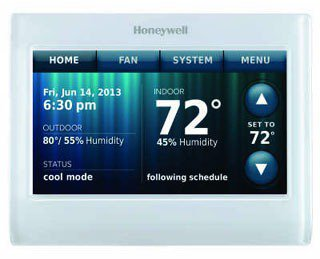 Honeywell Wi-Fi TH9320WF5003/U 18 To 30Vac Premier White 7-Day Programmable Thermostat