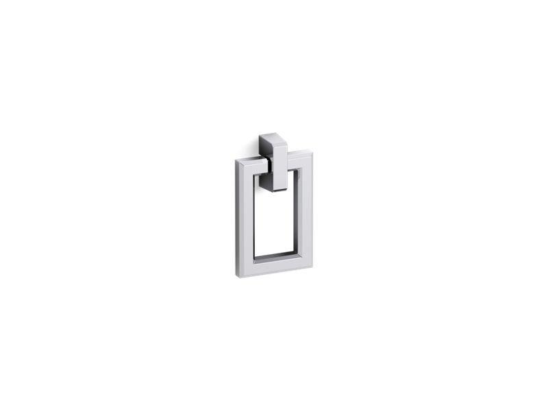 Kohler K-99687-HF1 Poplin/Marabou Rectangular Pull in Chrome